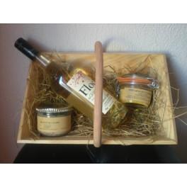 Baquet à Vendange Garni / Coffret Cadeau