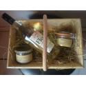 Baquet à Vendange Garni Floc/ Coffret Cadeau